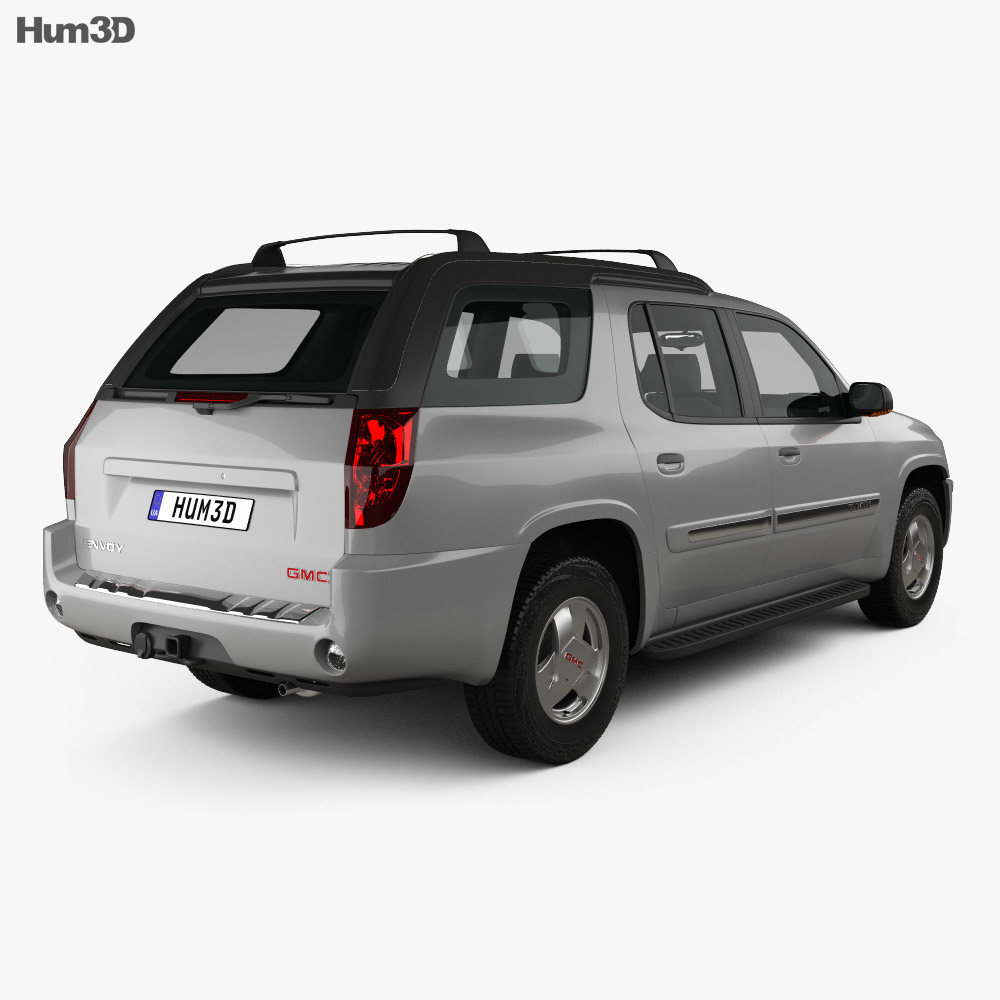 GMC Envoy XUV 2004 3d model