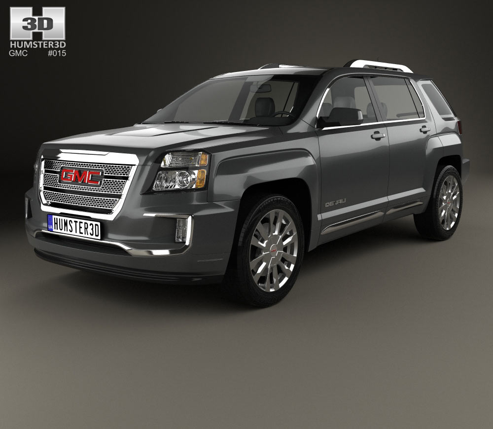 GMC Terrain Denali 2016 3d model