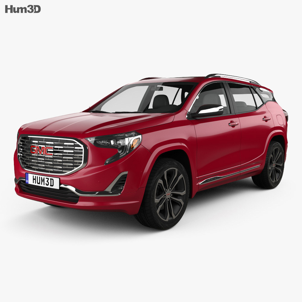 GMC Terrain Denali 2017 3d model