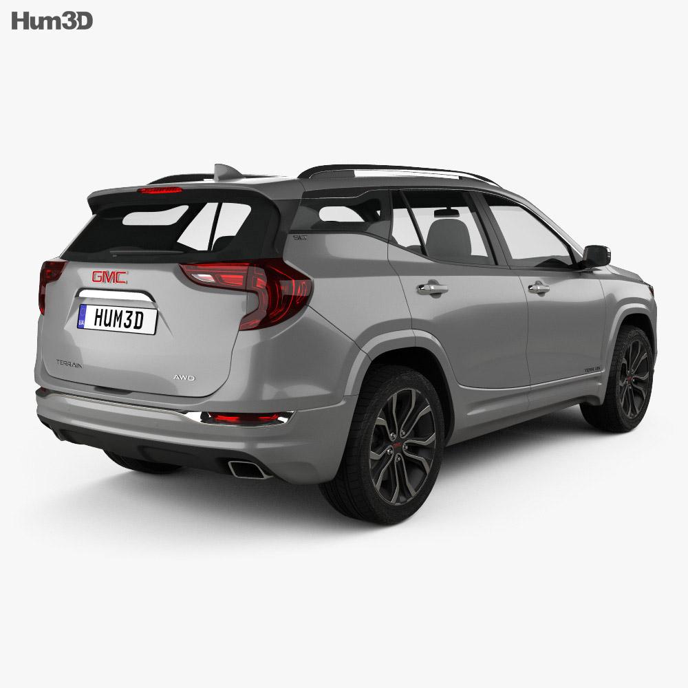 GMC Terrain SLT 2017 3d model