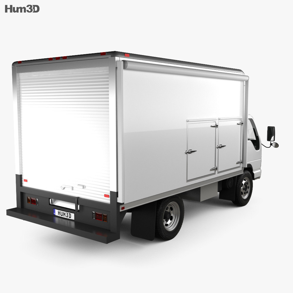 GMC W4500 Supershot 2009 3d model