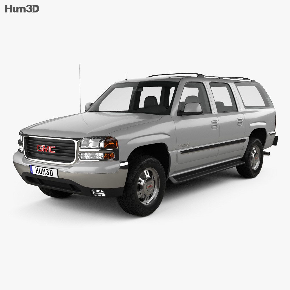 GMC Yukon XL 2000 3d model