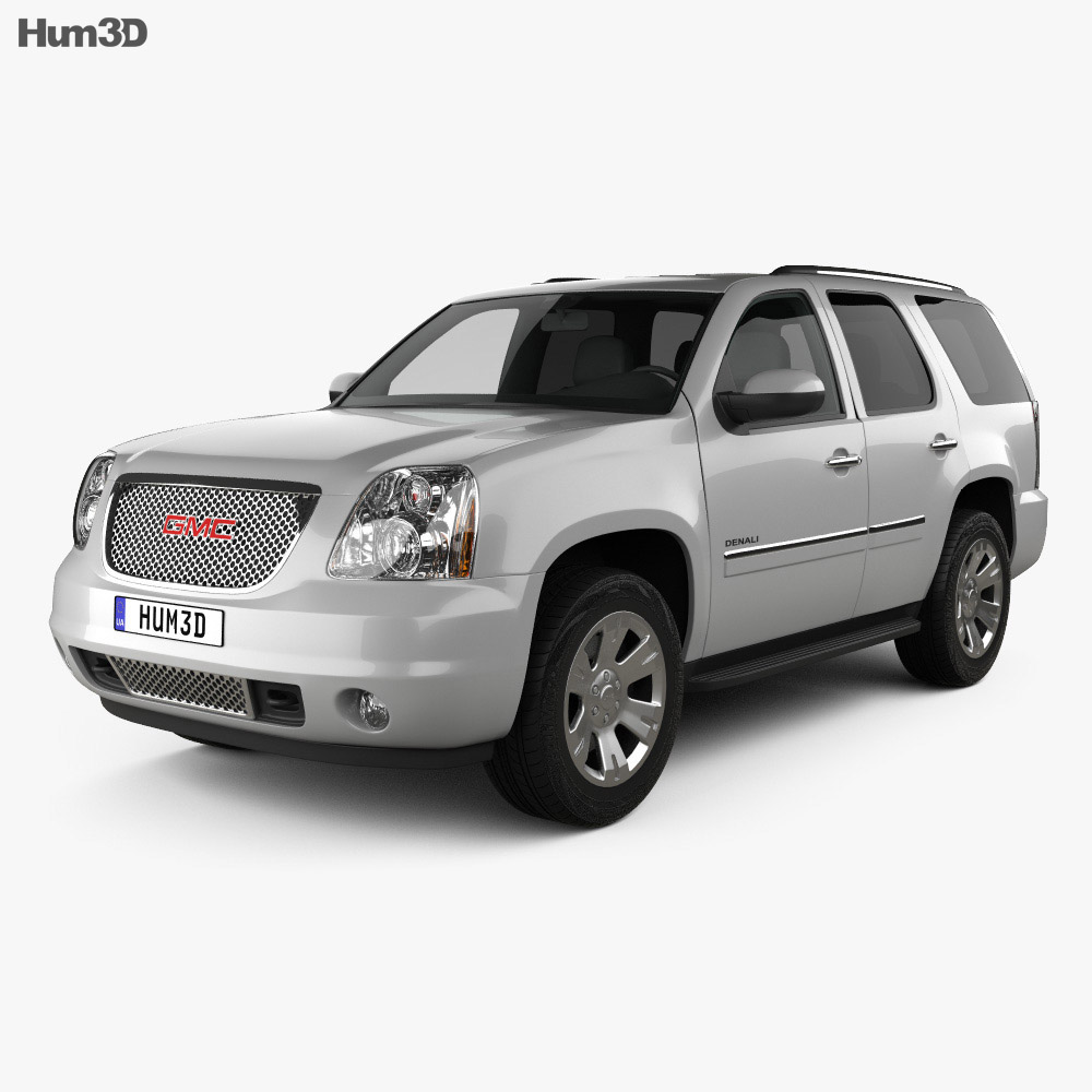 GMC Yukon Denali 2012 3d model