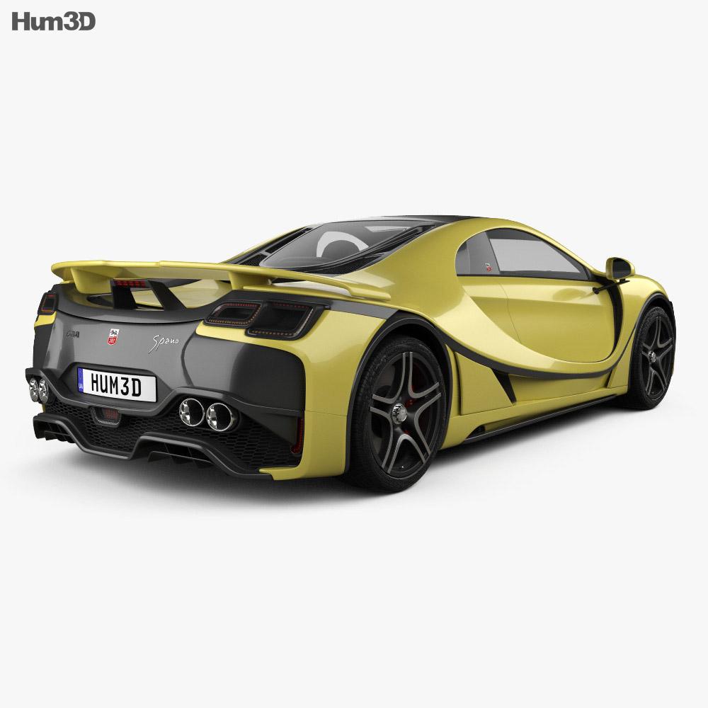 GTA Spano 2015 3d model