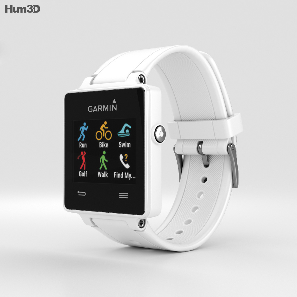 Garmin Vivoactive White 3d model