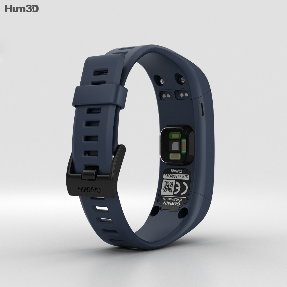 Garmin Vivosmart HR Midnight Blue 3d model
