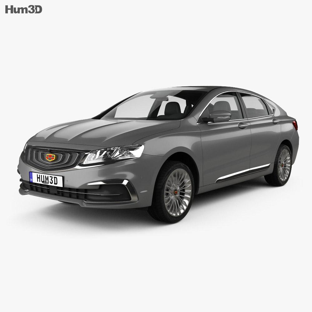 Geely Borui GE 2017 3d model
