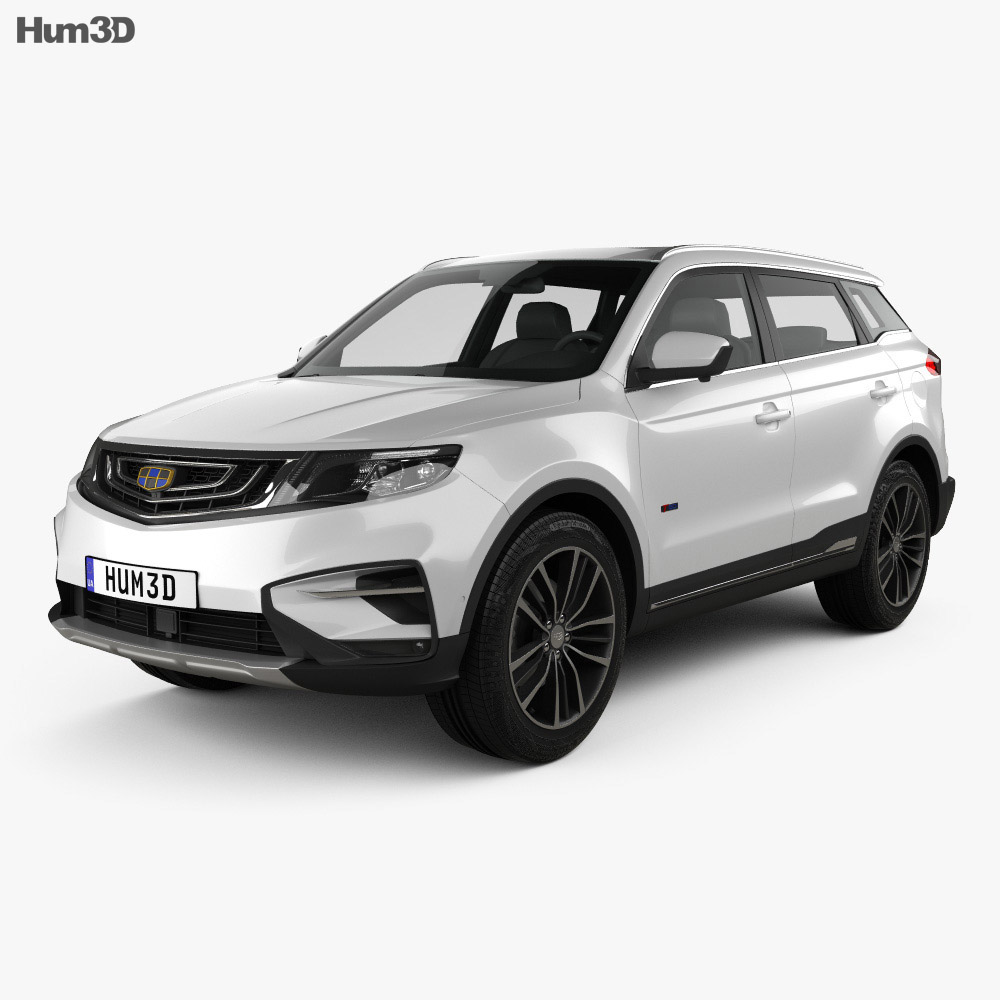 Geely Emgrand Boyue 2018 3d model