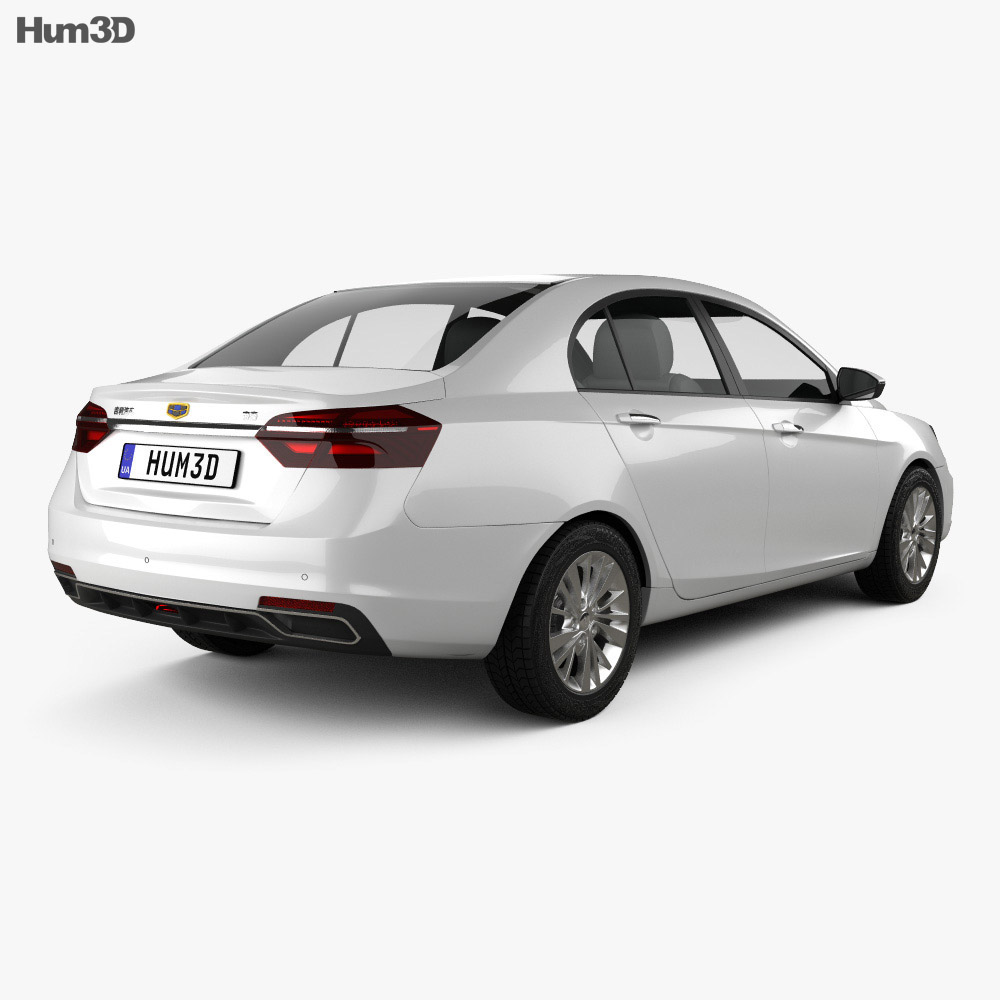 Geely Emgrand EC7 2018 3d model