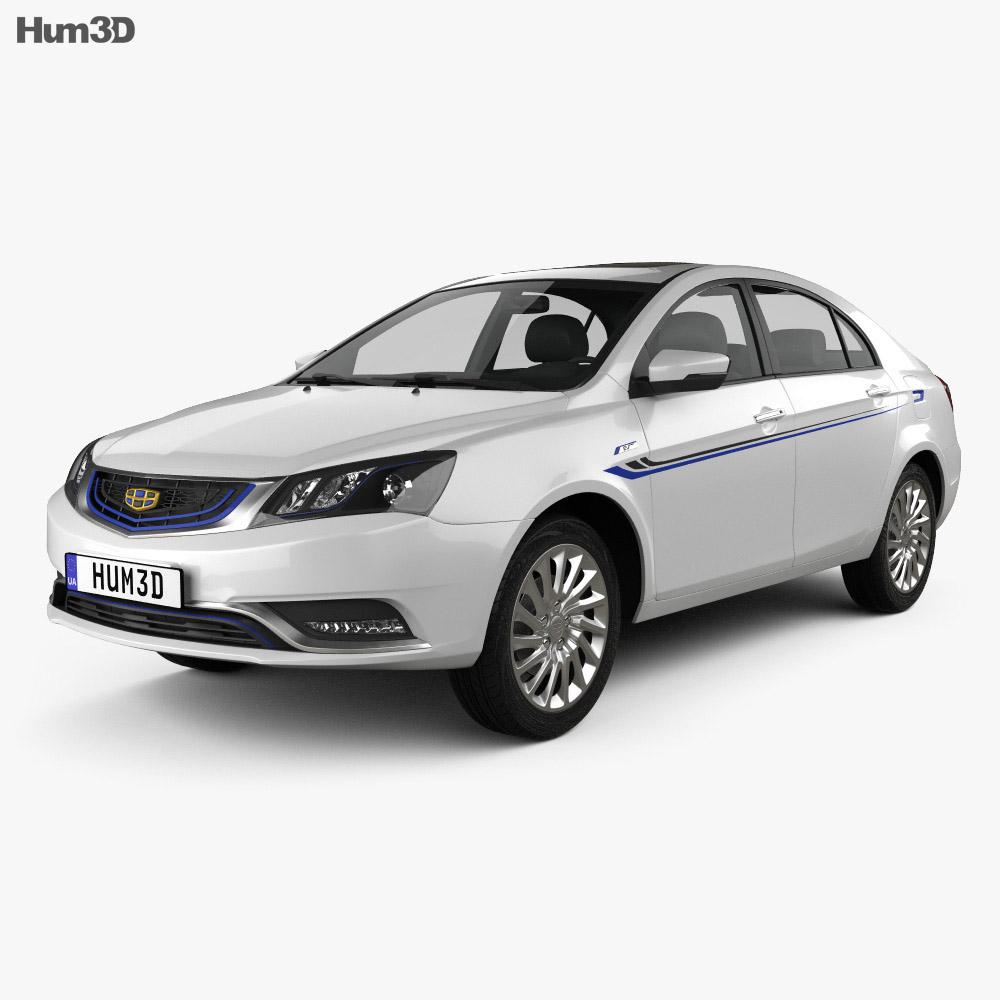 Geely Emgrand EV 2015 3d model