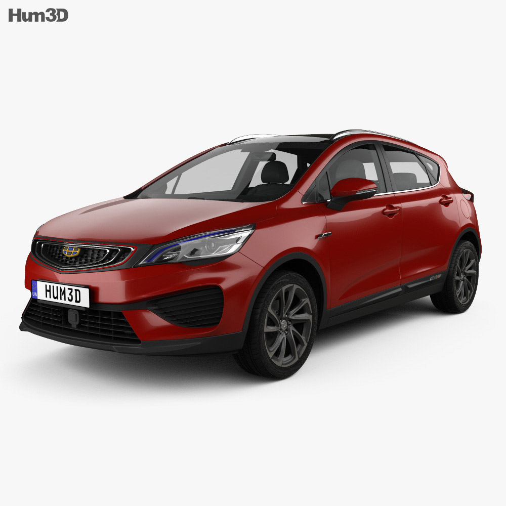 Geely Emgrand GS Fashion 2018 3d model