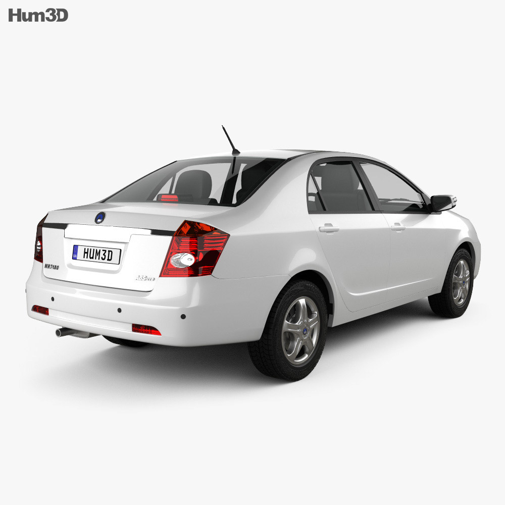 Geely FC (Vision) 2011 3d model