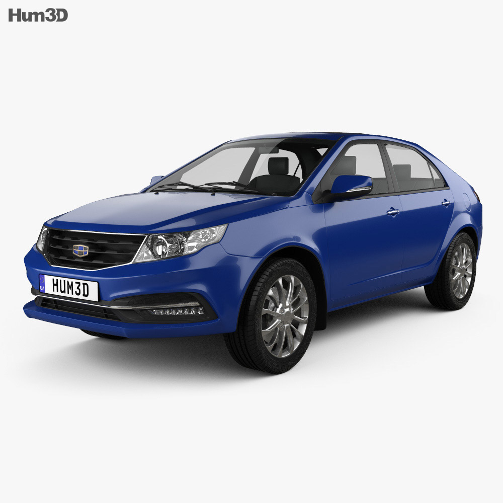 Geely GC7 Vision 2015 3d model