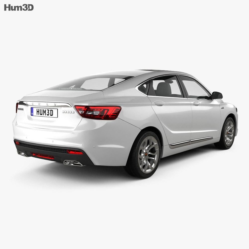 Geely GC9 2015 3d model