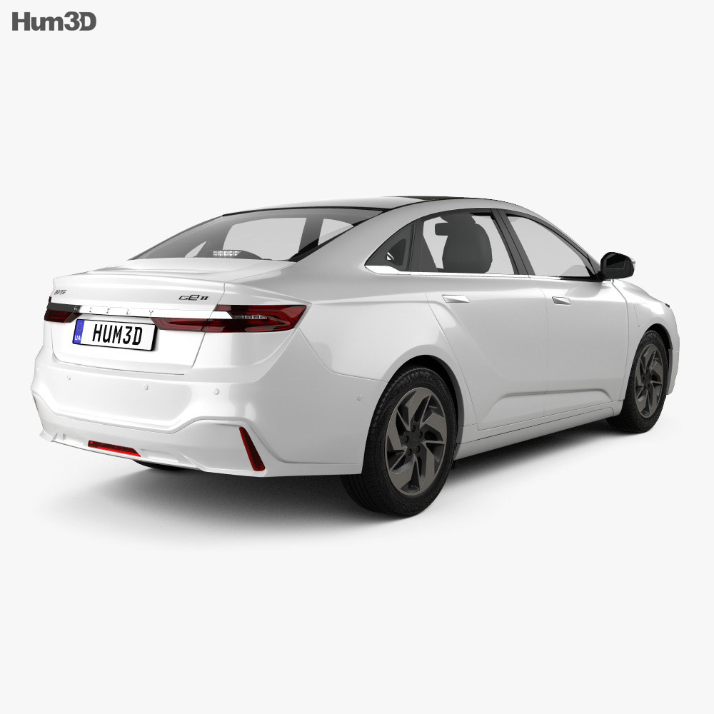 Geely GE11 2019 3d model