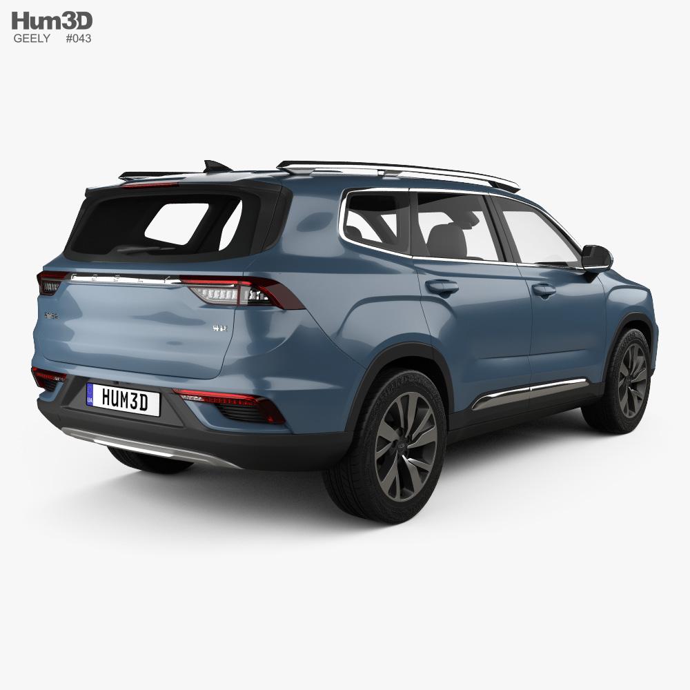 Geely Haoyue 2020 3d model