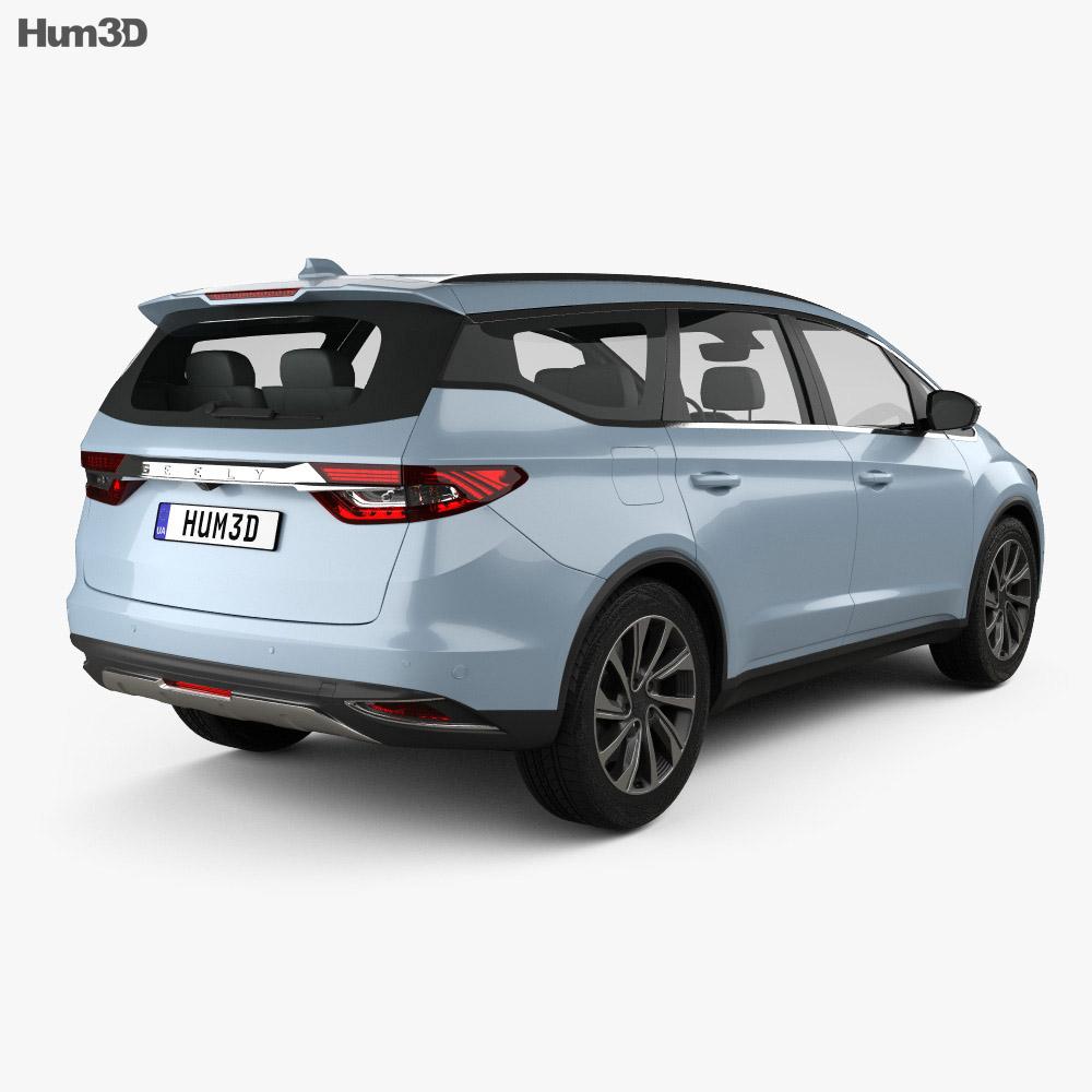 Geely Jiaji 2018 3d model