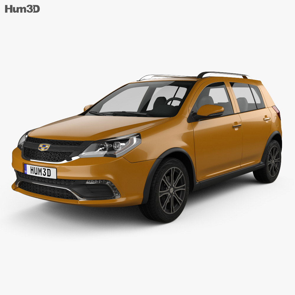 Geely Jingang Cross 2016 3d car model