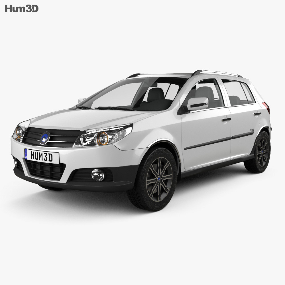 Geely MK Cross 2009 3d model