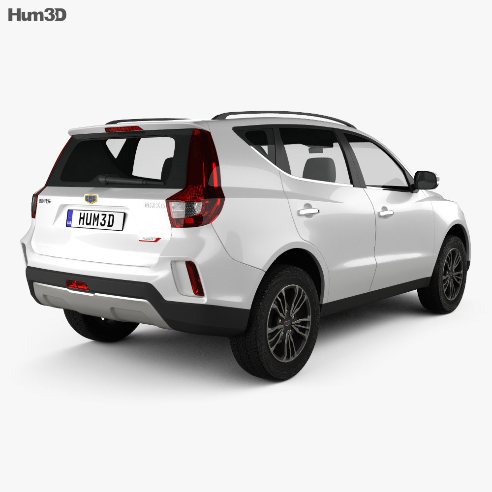 Geely Vision X6 2016 3d model