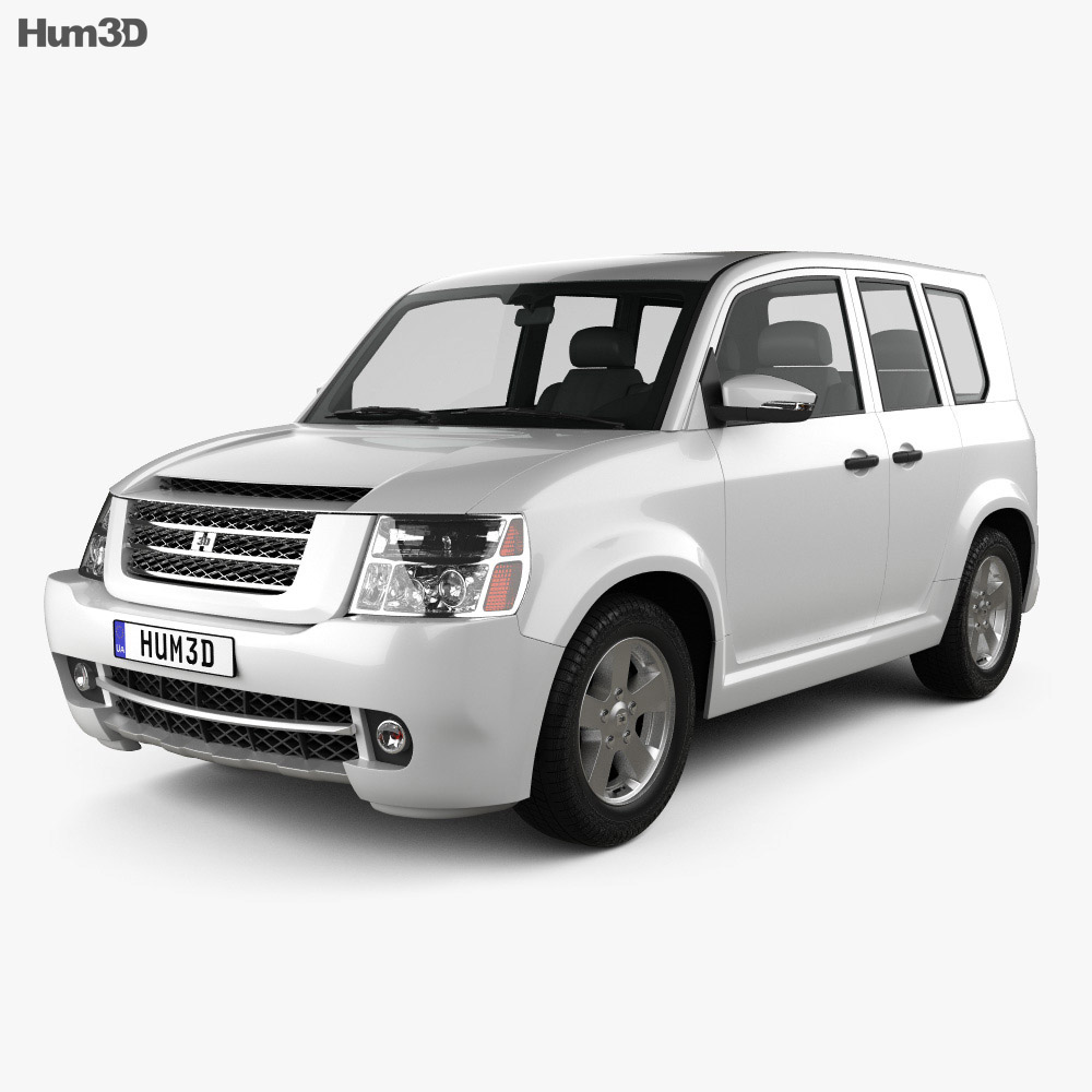 3D model of Generic SUV 2013