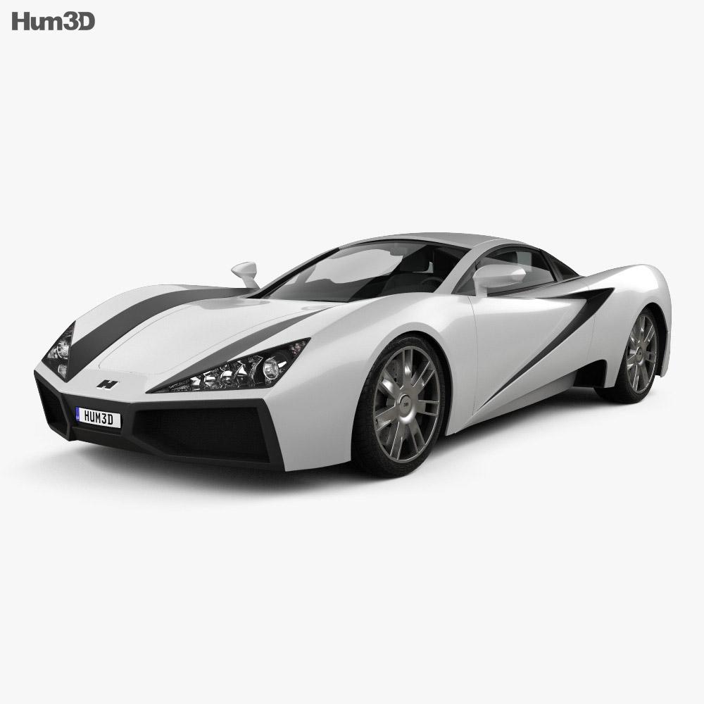 Generic Sport Car 2013 3d model