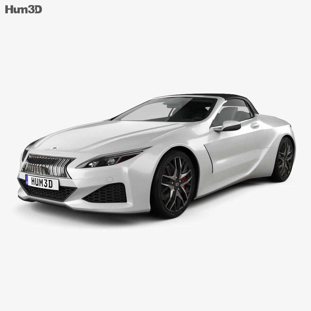 Generic convertible 2019 3d model