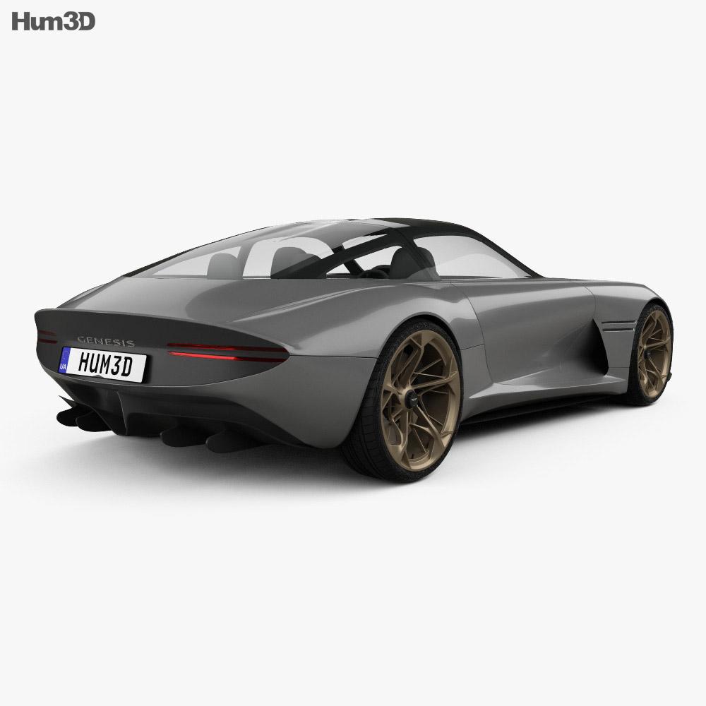 Genesis Essentia 2018 3d model