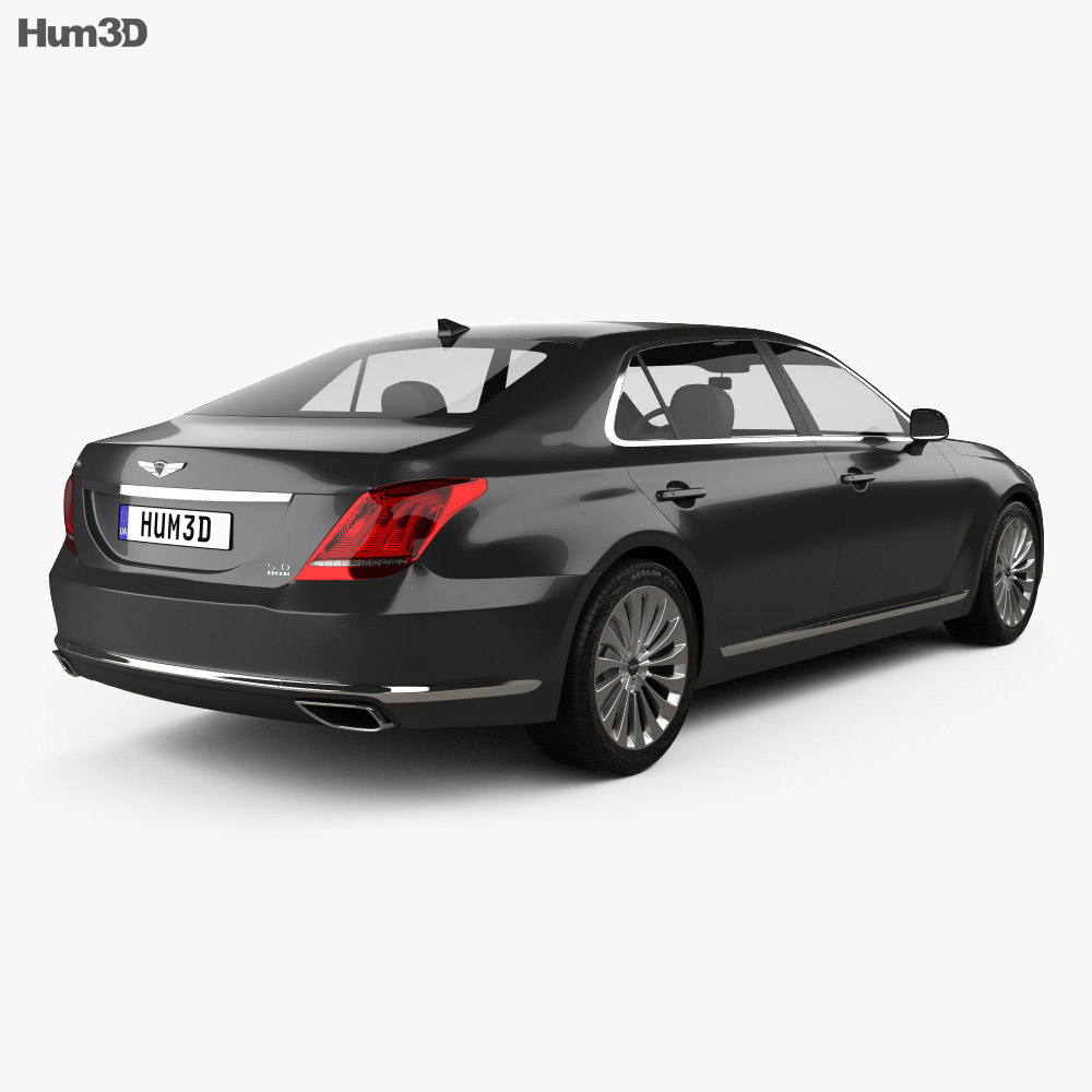 Genesis G90 2017 3d model