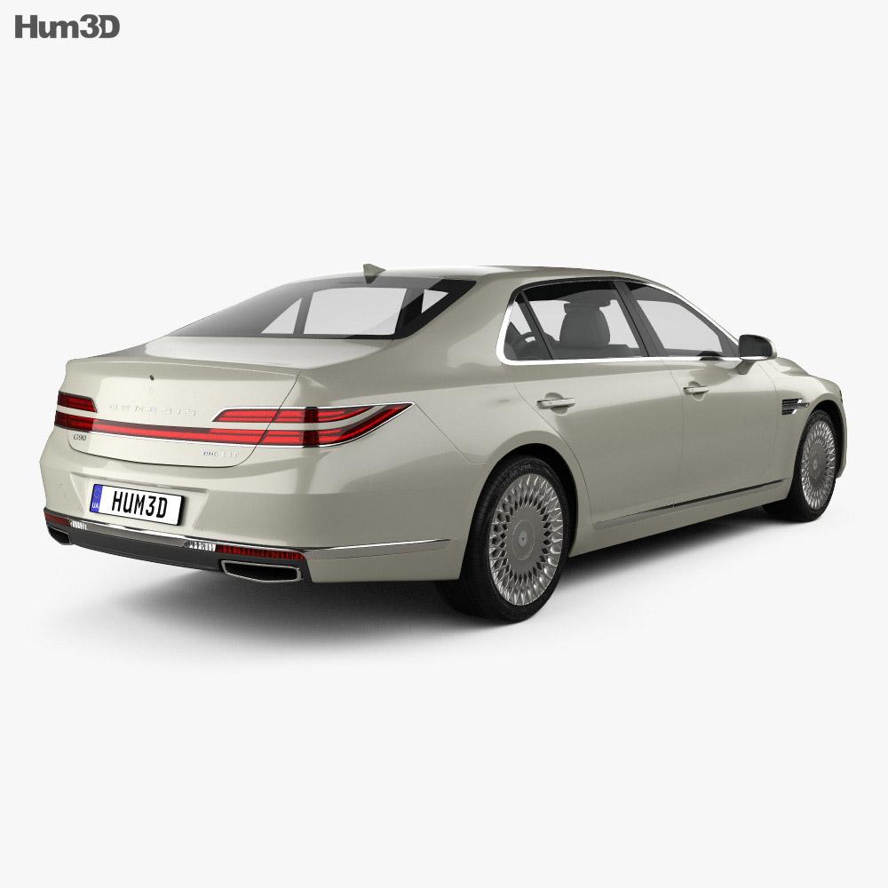 Genesis G90 2020 3d model