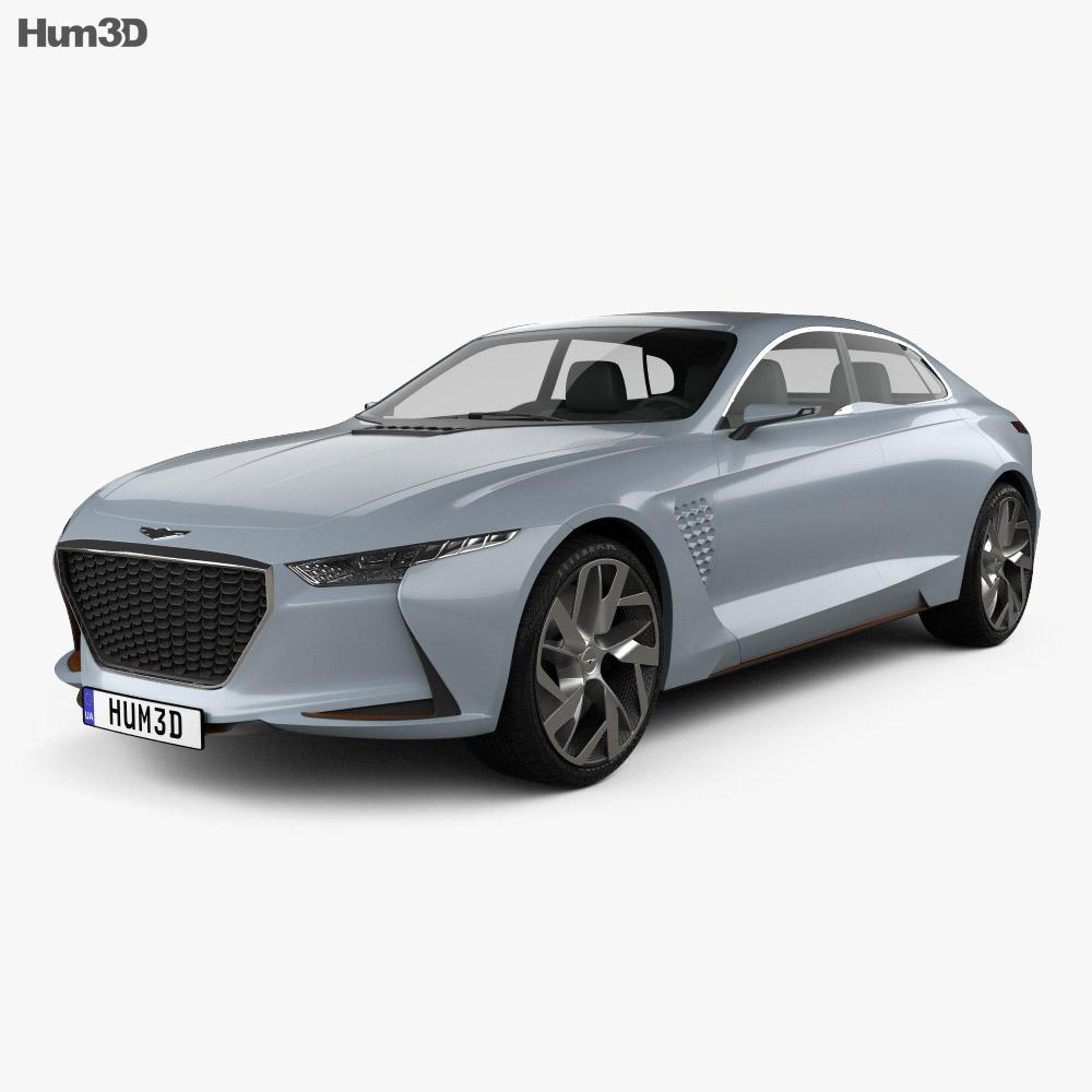 Genesis New York 2016 3d model