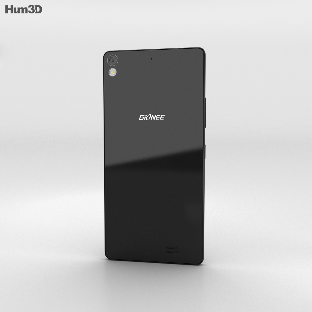 Gionee Elife S5.1 Black 3d model