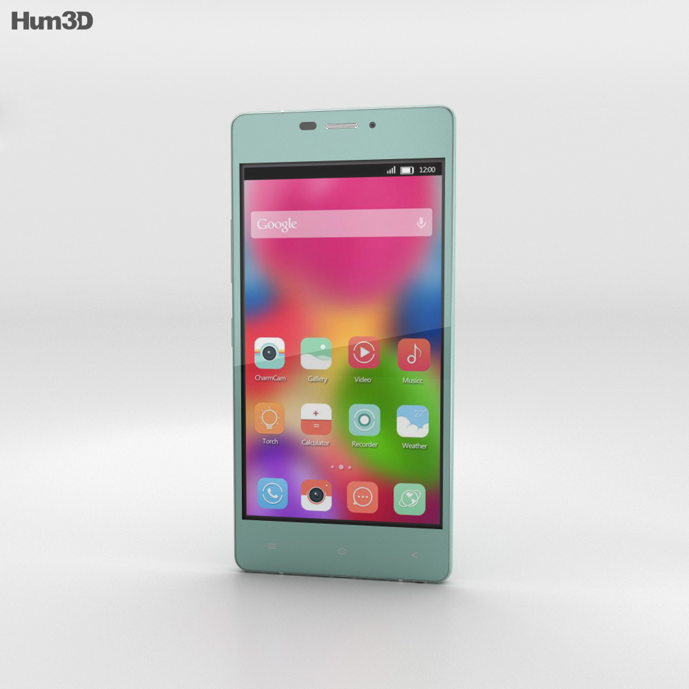 Gionee Elife S5.1 Mint Green 3d model