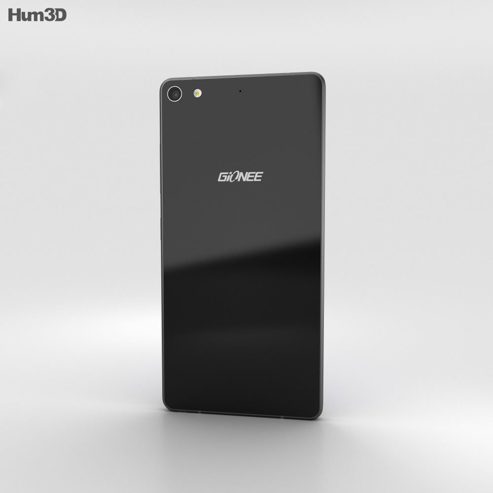 Gionee Elife S7 Los Angeles Black 3d model