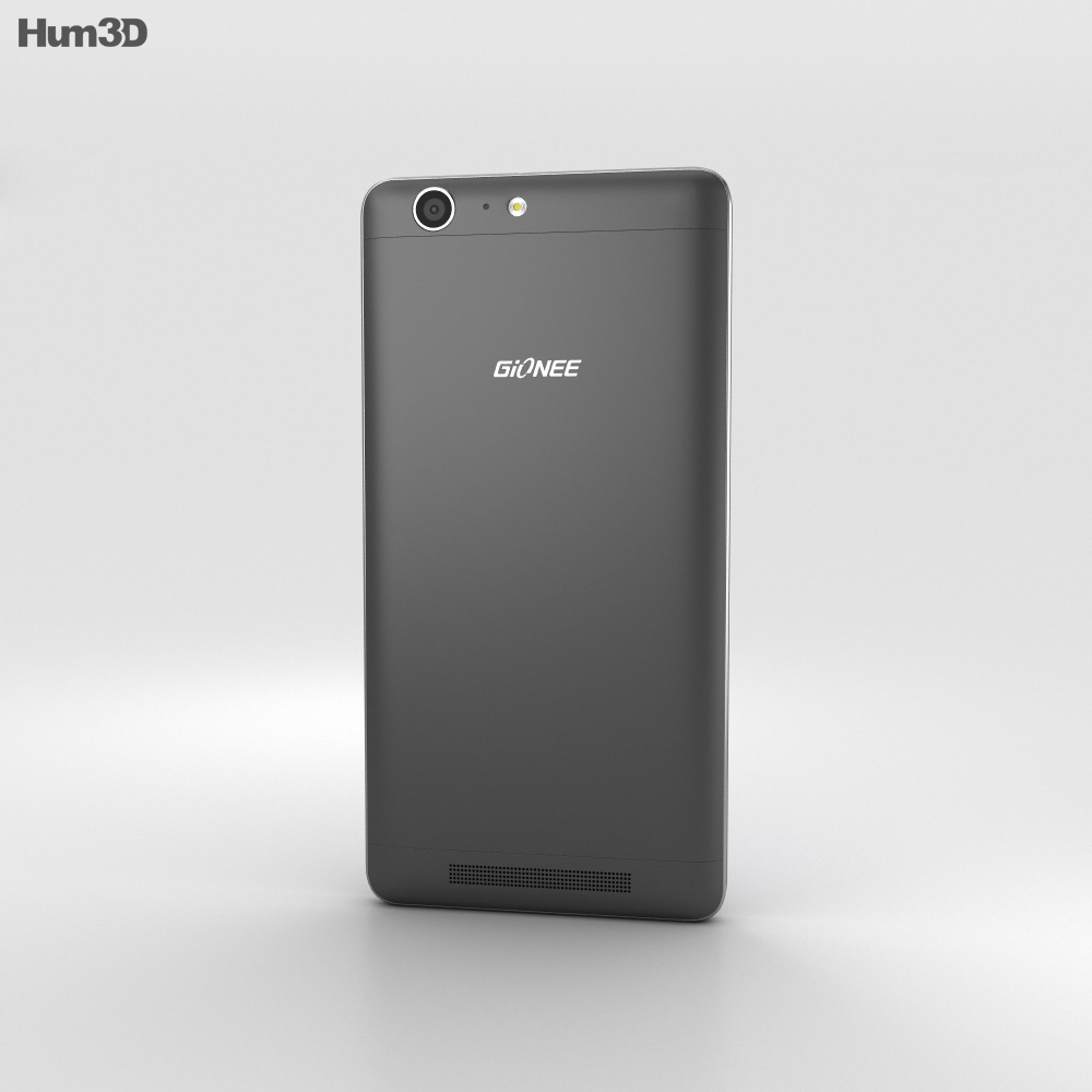 Gionee Marathon M5 Black 3d model