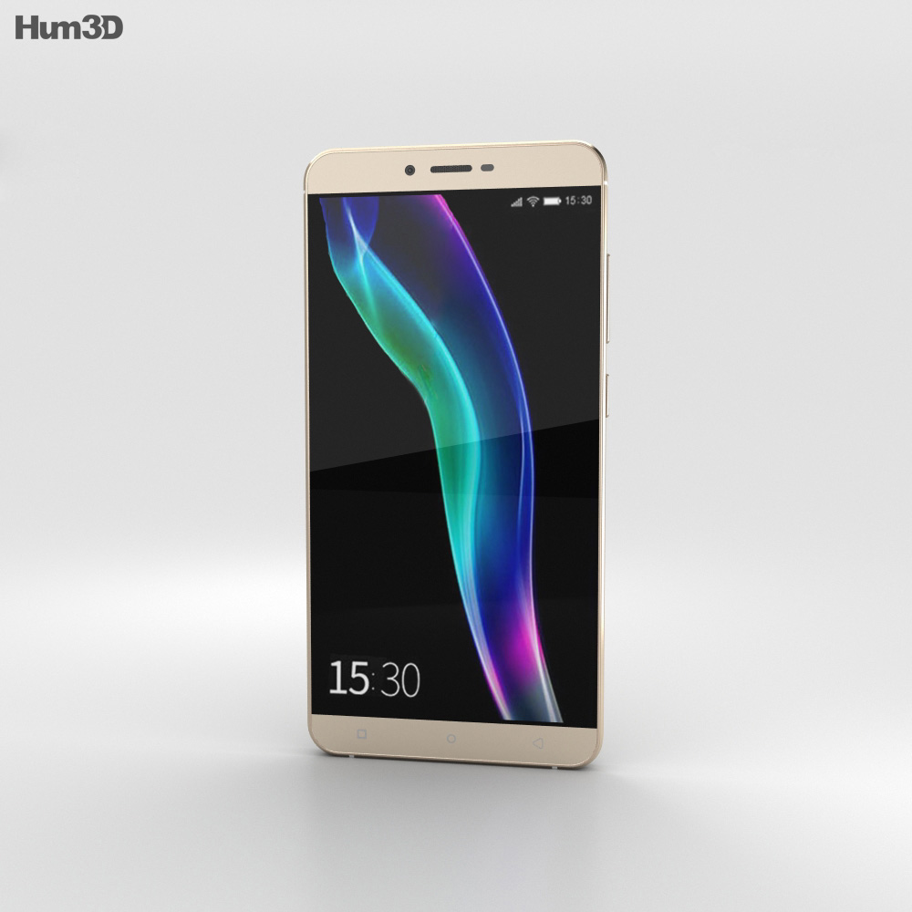 Gionee S6 Gold 3d model