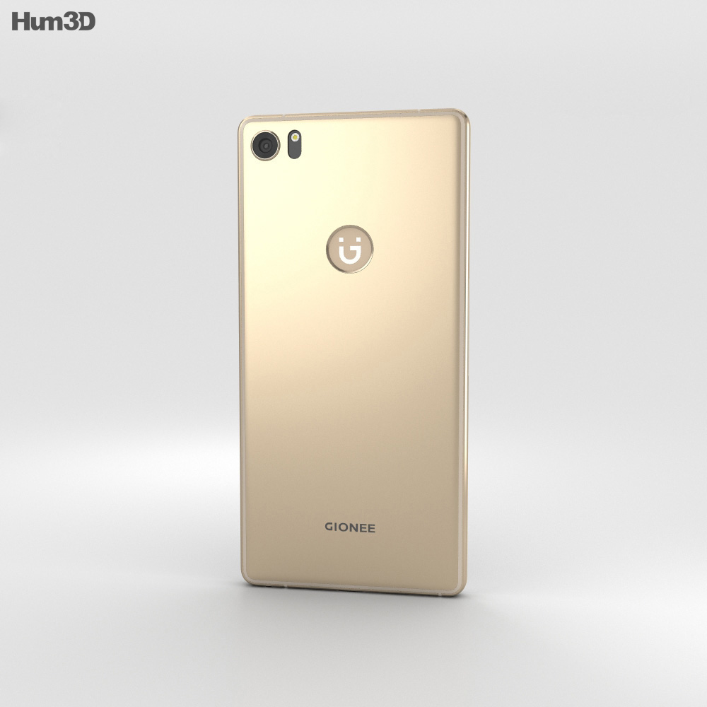 Gionee S8 Gold 3d model