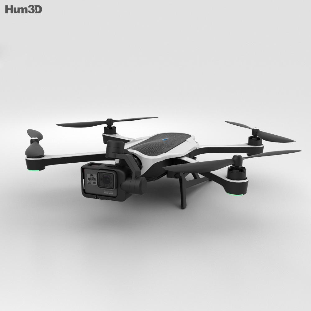 GoPro Karma Drone 3d model
