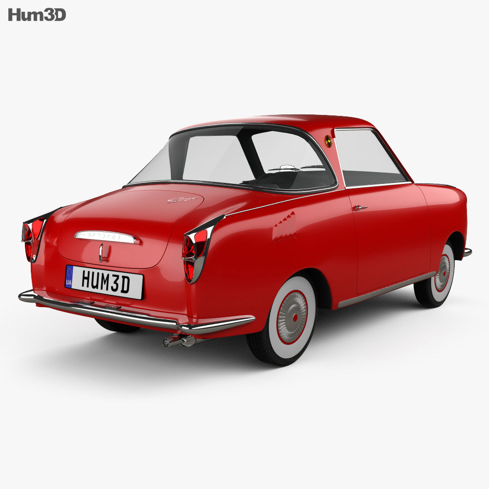 Goggomobil TS 250 Coupe 1957 3d model