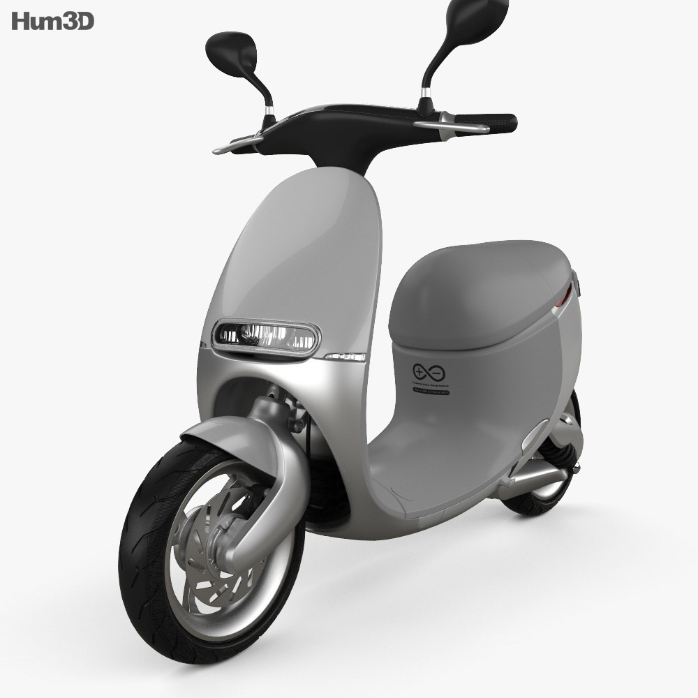 Gogoro Smartscooter 2015 3d model