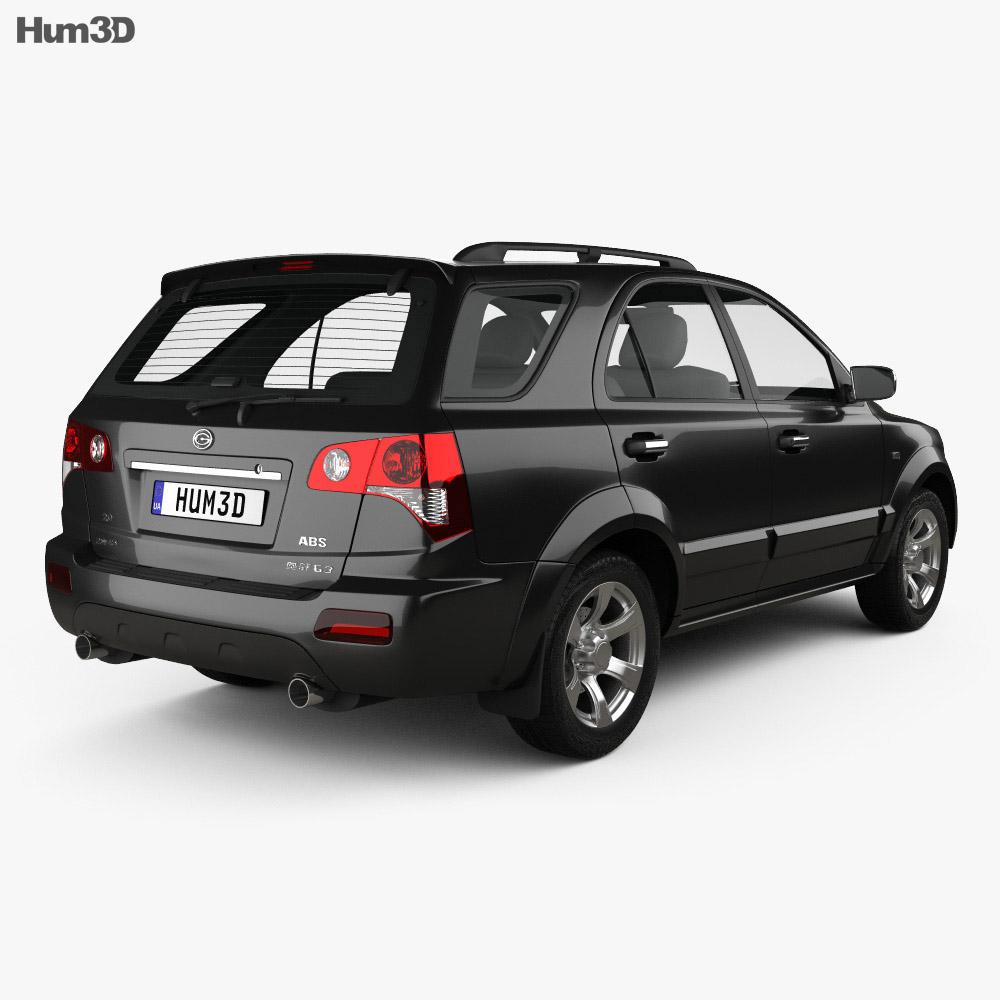 Gonow G3 2010 3d model