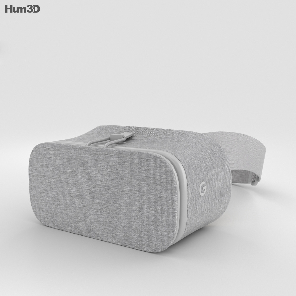Google Daydream View Snow 3d model