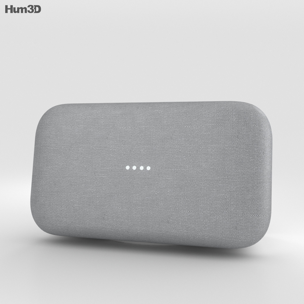 Google Home Max Chalk 3d model