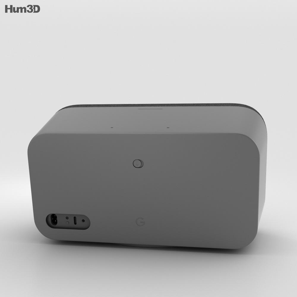 Google Home Max Charcoal 3d model
