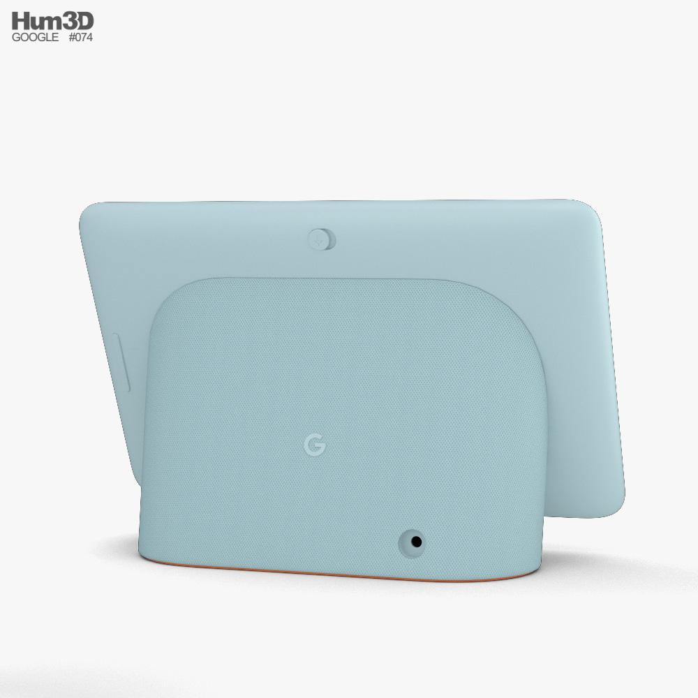 Google Nest Hub Aqua 3d model
