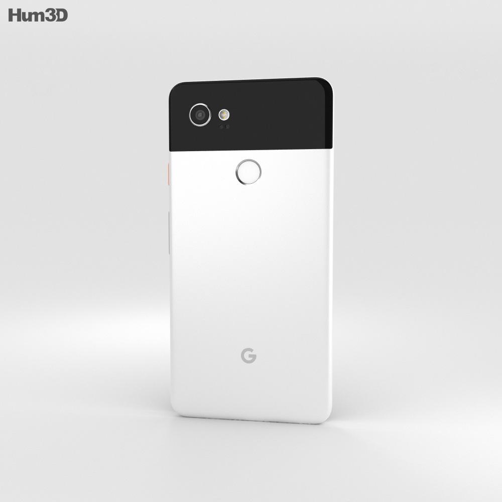 Google Pixel 2 XL Black & White 3d model
