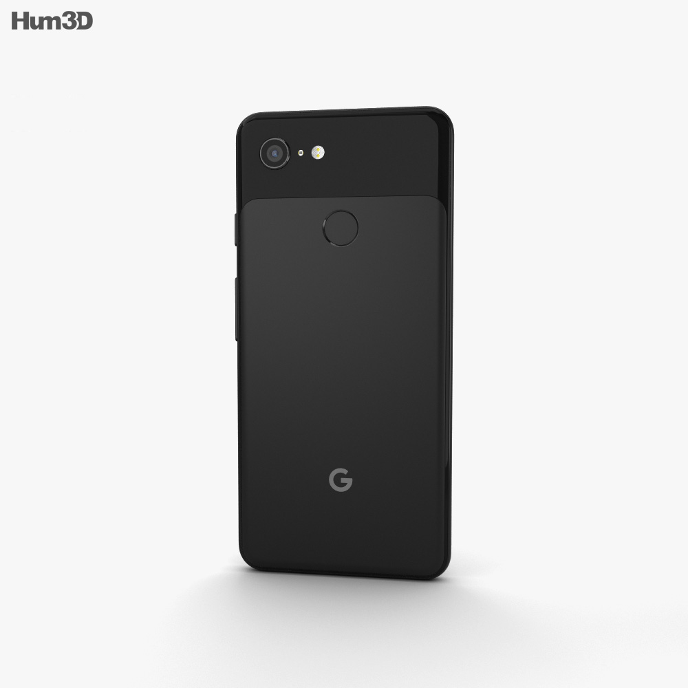 Google Pixel 3 Just Black 3d model