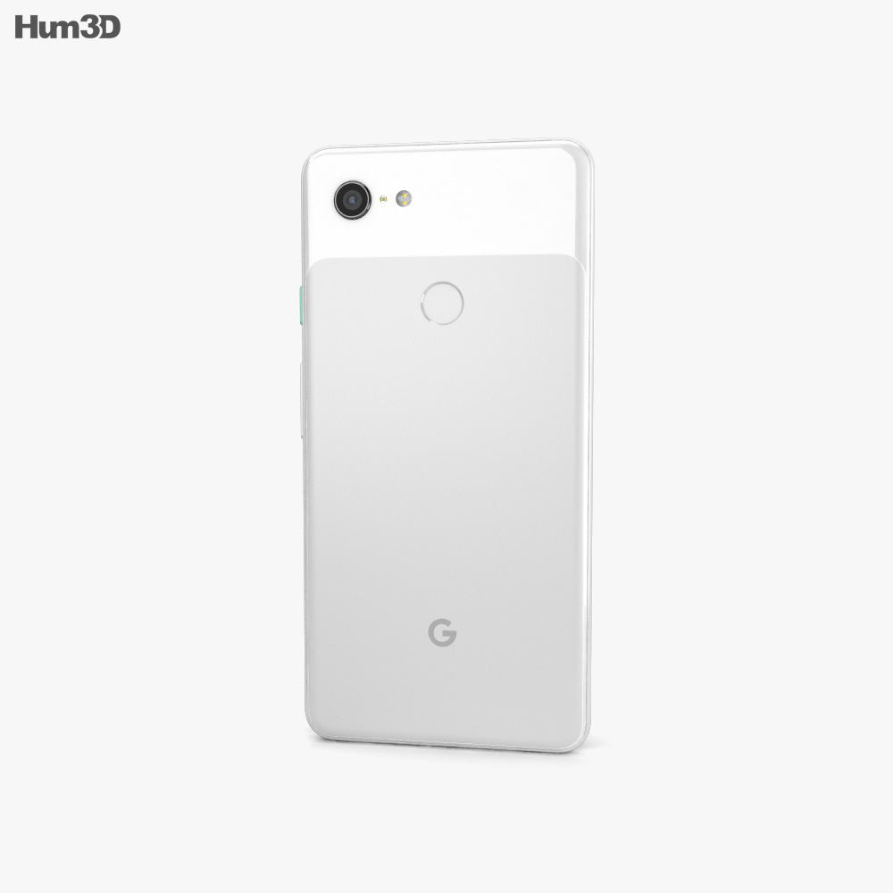 Google Pixel 3 XL Clearly White 3d model
