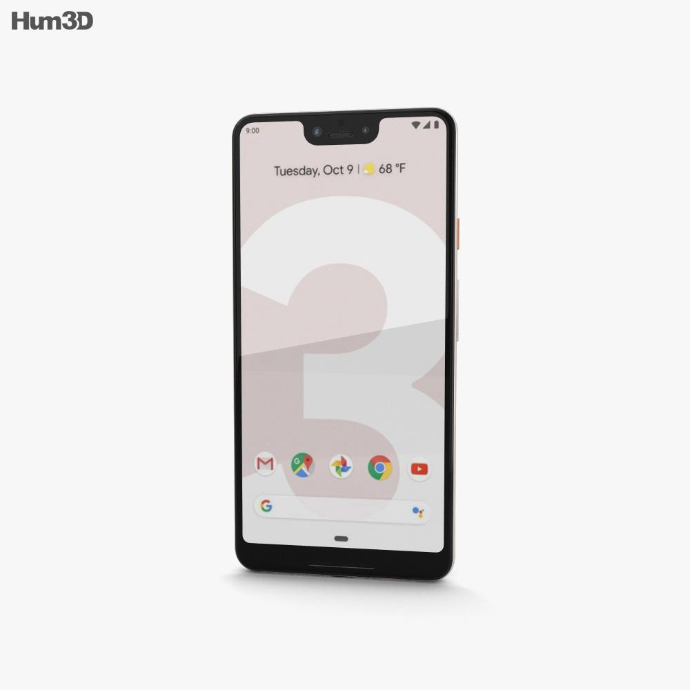 Google Pixel 3 XL Not Pink 3d model