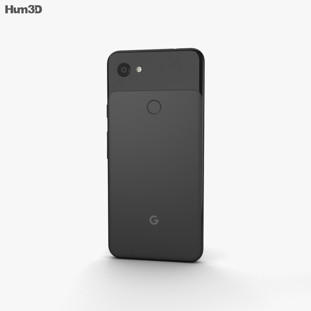 Google Pixel 3a Just Black 3d model